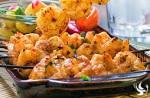 Chipotle Shrimp with Mango Salsa and Jasmine Rice