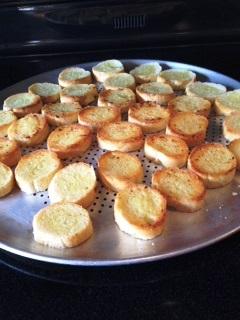 bruschetta toast